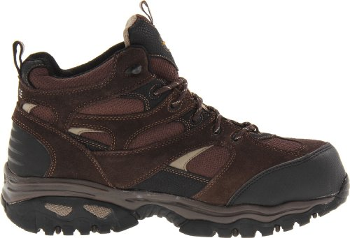 Skechers For Arbeid Menns Klanen Vanntett Arbeid Boot Brown