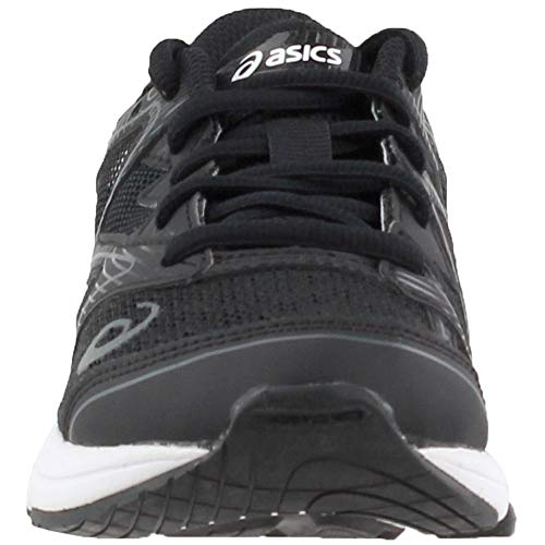 ASICS Unisex-Kids Noosa GS Running Shoe, Black/Carbon/Mid Grey, 1 Medium US Big Kid by ASICS (Image #4)