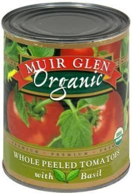 Canned Tomatoes & Paste: Muir Glen Whole Peeled