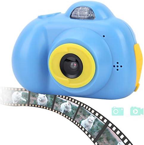 [해외]Mugast 키즈 카메라 720 × 320 HD 방수 귀여운 토이 카메라 내장 마이크와 스피커 녹화 가능 어린이 선물 디지털 카메라 일본어 지원 (블루) / Mugast Kids Camera 720×320 HD Waterproof Cute Toy Camera Built-in Microphone and Speaker Record...