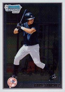 1st Bowman Chrome Baseball Card 2010 Bowman Chrome Prospects #BCP207 Gary Sanchez