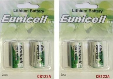 BRAND NEW 4 LITHIUM DL123A CR123A 123 Cr123 Photo Batteries Battery
