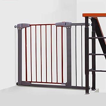 Huo Cierre Automático de Barrera de Seguridad del Bebé, Extra Ancho Puerta de Niño de La Casa, Escaleras, Puertas (Size : 148-151cm): Amazon.es: Hogar