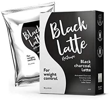 New! Black Latte Dry Drink Weight Control, Weight Loss, Body Cleansing, eliminates toxins 100 gr