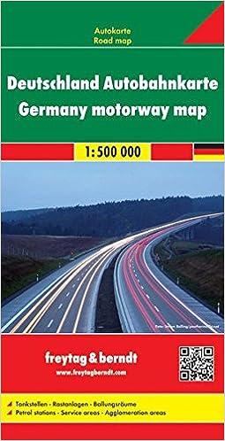 Deutschland Autobahnkarte 1 700 000 Wegenkaart 1 500 000