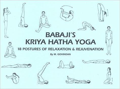 Gut gemocht Buy Babaji's Kriya Hatha Yoga: 18 Postures of Relaxation  YI78