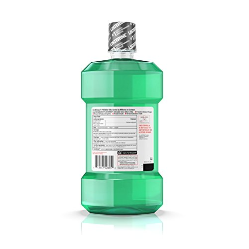 Listerine Freshburst Antiseptic Mouthwash For Bad Breath, 1.5 L, (Pack of 6) by Listerine (Image #5)