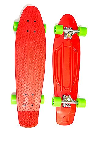 phic Complete Skateboard (Red - Green) ()