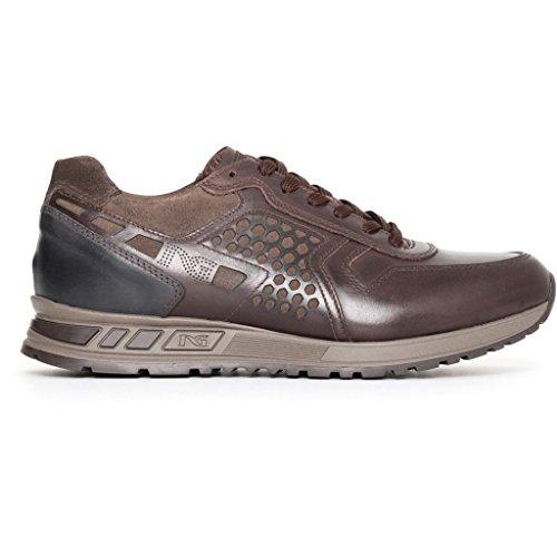 Nero Homme Basses Sneakers Giardini Marron 7Uxvr7wqO