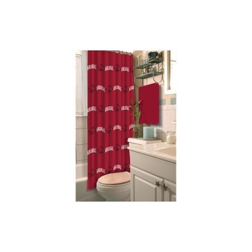 Arkansas Razorbacks Shower Curtain - The Northwest Company NCAA Arkansas Razorbacks Shower Curtain