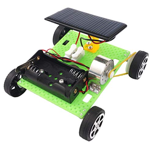 (DYNWAVE Physical Experiment Mini Motor Car Model Solar Toy Racing Model, Kids Hands On Working Ability and Raising Interest)