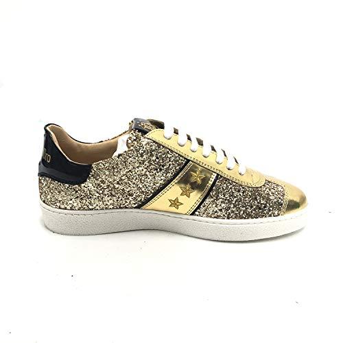 D'oro Oro Eu38 Glitter Sneakers Pantofola Donna Bbl6wd 6UxqgqZw