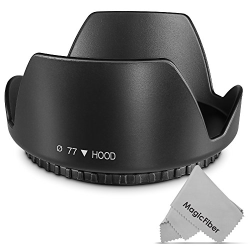 77MM Altura Photo Tulip Flower Lens Hood - Perfect Mount Macro Shopping Results