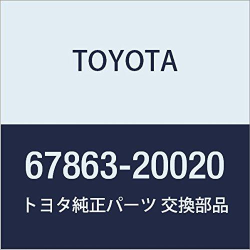 TOYOTA Genuine 67863-20020 Door Weatherstrip