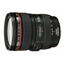 Canon EF 24-105mm f/4 L IS USM Lens for Canon EOS SLR Cameras (White Box)
