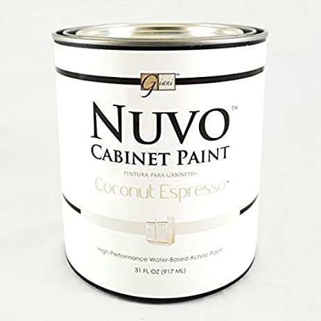 Amazon.com: Nuvo Cabinet Paint (Coconut Espresso) Quart by Giani ...