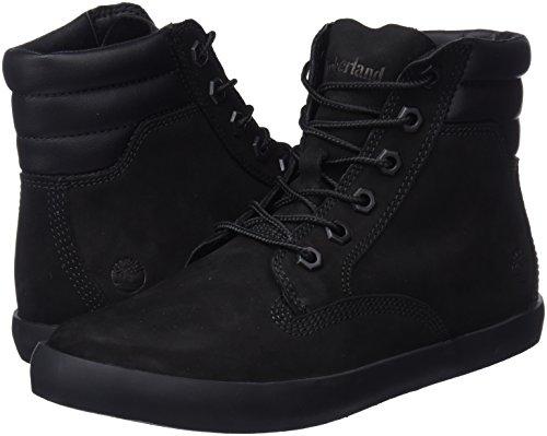 Timberland Dausette Boot Nubuck Femme Botines Sneaker black Noir FFrORq