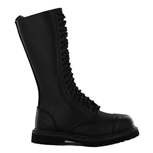 Derby Grinders CS Boots King Womens Negro Black BLA CS Kin rrwEq