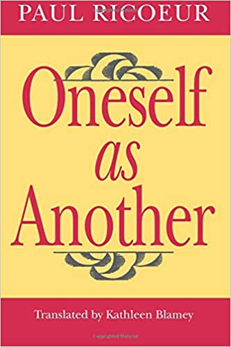 a4cf94a2d Oneself as Another - Livros na Amazon Brasil- 9780226713298