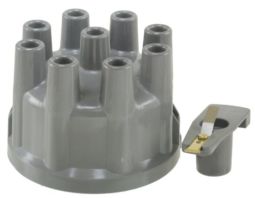 Wells F2100 Distributor Cap and Rotor Kit (1974 Distributor Ford Torino)