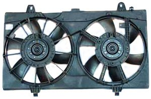 - TYC 621770 Nissan Sentra Replacement Radiator/Condenser Cooling Fan Assembly