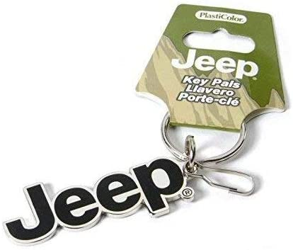 Plasticolor Jeep Enamel Key Chain
