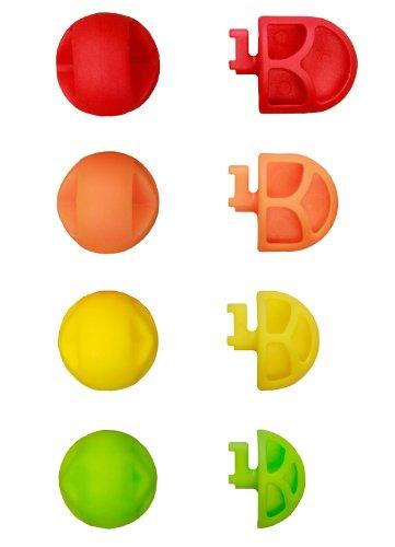 Teeter Hang Ups ''Better Back Adjustable Acupressure Nodes, Red/Orange/Yellow/Green by Teeter Hang Ups