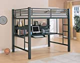 Product review for Coaster Fine Furniture 460023 Loft Bed with Workstation, Black Finish