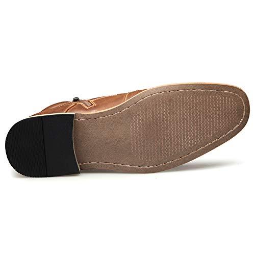 Vestido Zapato Toe Chukka Shoe Boot Correa House A Mens Hinton Cap HSHxqEg