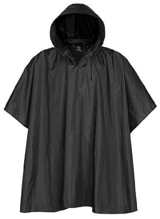Stormtech - Packable Rain Poncho, Black One Size