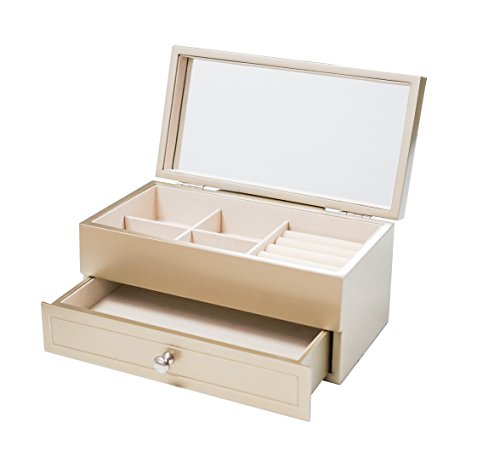 Hives and Honey Harper Champagne Jewelry Chest Jewelry Box by Hives and Honey