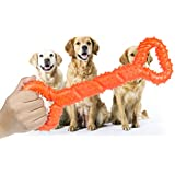Dog chew toys,Tooth Cleaning and Extra Large Dog Toys with Convex Design Strong Tug Toy for Aggressive Chewers Medium