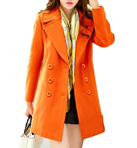 Double Breasted Print Coat - 8