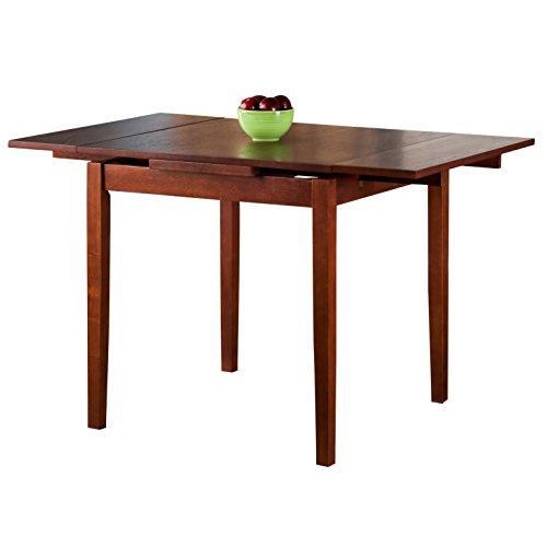 Alcott Hill Casual Protractible Dining Table in Walnut by Alcott Hill