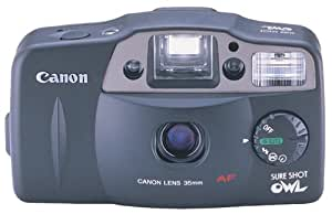 Amazon Com Canon Sure Shot Owl Date 35mm Camera Point And Shoot Digital Cameras Camera Amp Photo