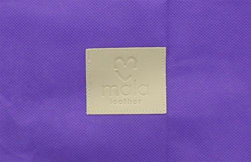 Mala MEJORES AMIGOS Colección de cuero suave cuerpo de la cruz / la bolsa de mensajero 766_65 Negro negro