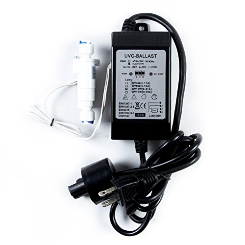 11 Watt Ballast - iSpring 123Filter UVT11A - 11-Watts 110-Volt Transformer Ballast with Smart Flow Sensor Switch
