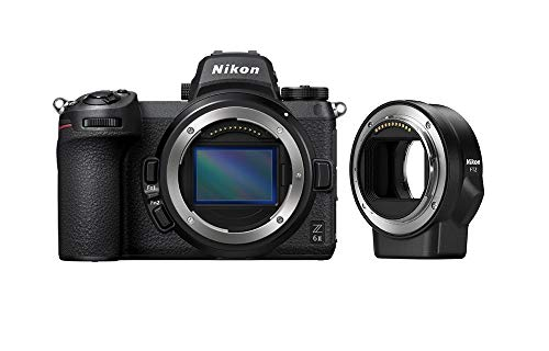 Nikon VOA060K002 Z6 II + FTZ Adapter Mirrorless Camera Kit (24.5 megapixel, Ultra wide ISO, 14 fps Continuous Shooting…