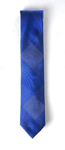 Sean John Hidden Grid Design 100% Silk Men's Neck Tie (Blue, One Size)
