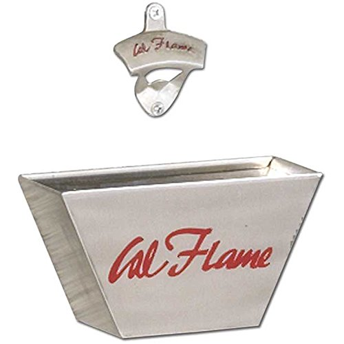 Cal Flame BBQ07901 Catcher, Bottle Opener, Stainless Steel -