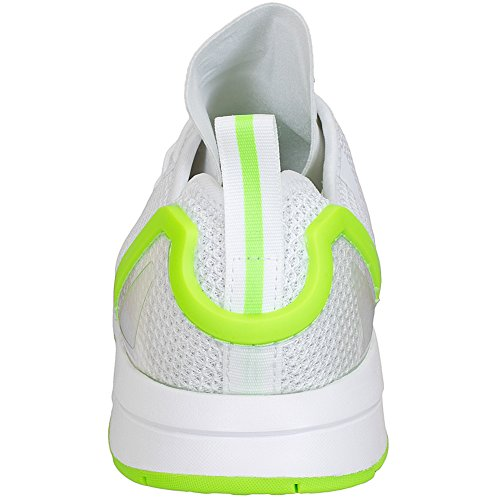 adidas Originals zapatillas deportivas ZX Flux Adv asimétrico Sneaker Trainer White/Green
