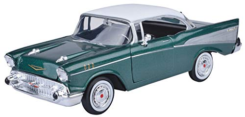 Motormax 1:24 Die-Cast 1957 Chevy Bel Air - Colors May Vary (57 Chevy Model Kit)