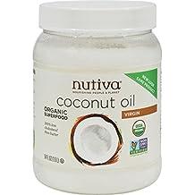 Nutiva Organic Extra Virgin Coconut Oil, 54 Ounce - 1 each.