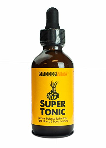 (SpeedyVite Super Tonic (2 oz) [Original Strength] with Raw Organic Unfiltered Apple Cider Vinegar ★ Made in the USA)