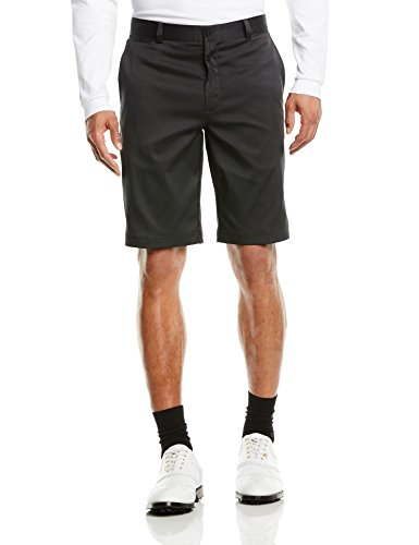 Nike Golf Men's Flat Front Short Black/Black/Black 40 X 11 - Nike Golf Shorts Black