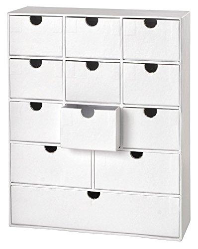 Schubladenbox, Organizer, Ordnungssystem, Büro, Aufbewahrungsbox aus Karton