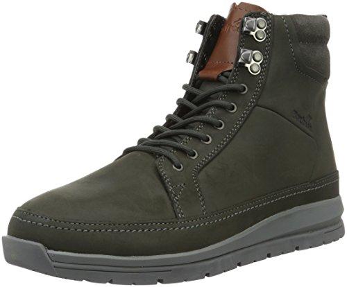 Boxfresh Loadha UH Lea Herren Stiefel Schuhe E14956 Grau Leder Grau (Grau)
