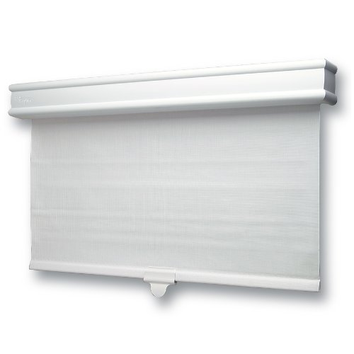 Amazon.com: Skotz 24.27 By 72 Inch Vinyl Roller Shade With Decorative  Valence: Home U0026 Kitchen