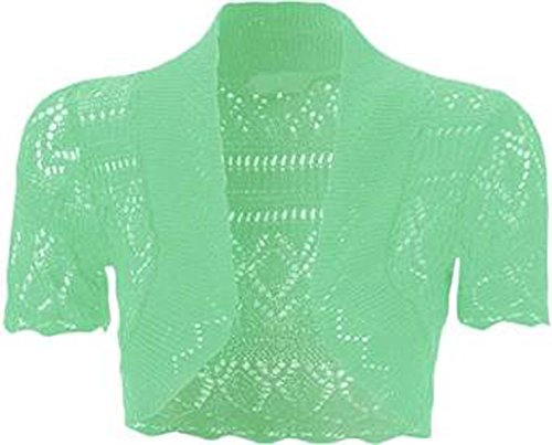 FashionMark Girls Crochet Knitted Bolero product image