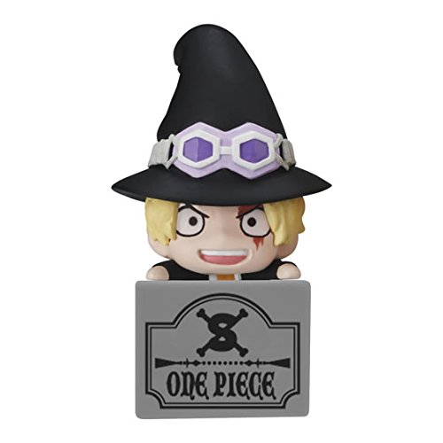 Bandai One Piece Double Earphone Plug Jack Mascot Figure~Halloween~Sabo ()